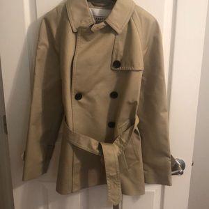 COACH khaki trench coat